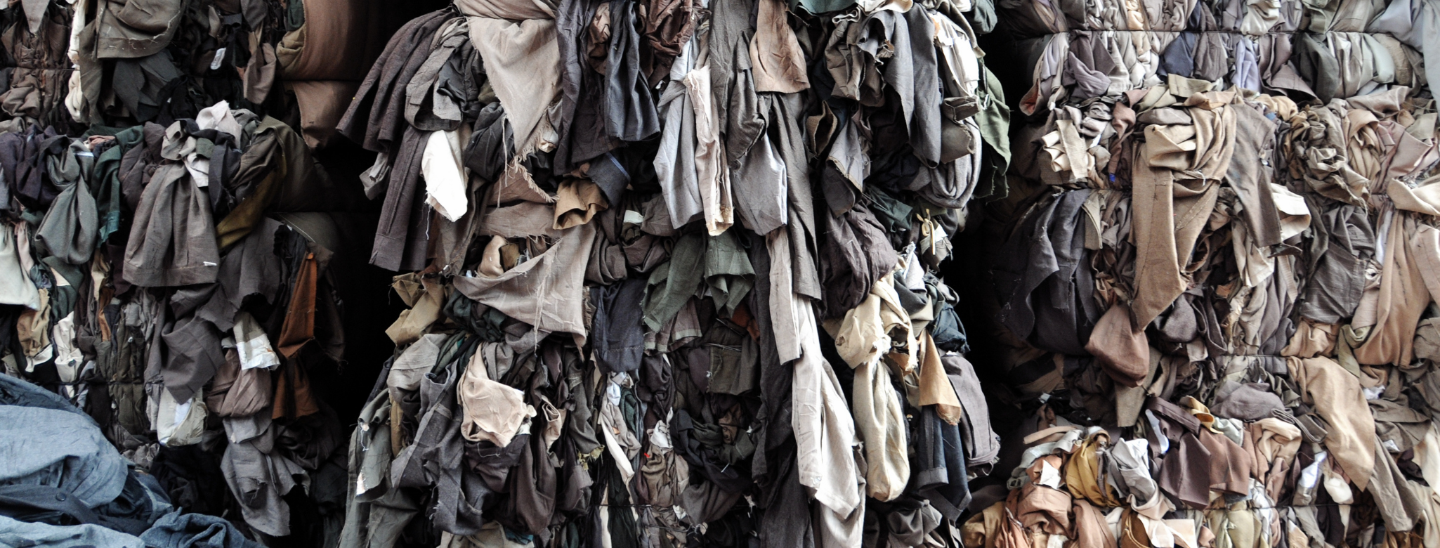 Textiles End Up in Landfills