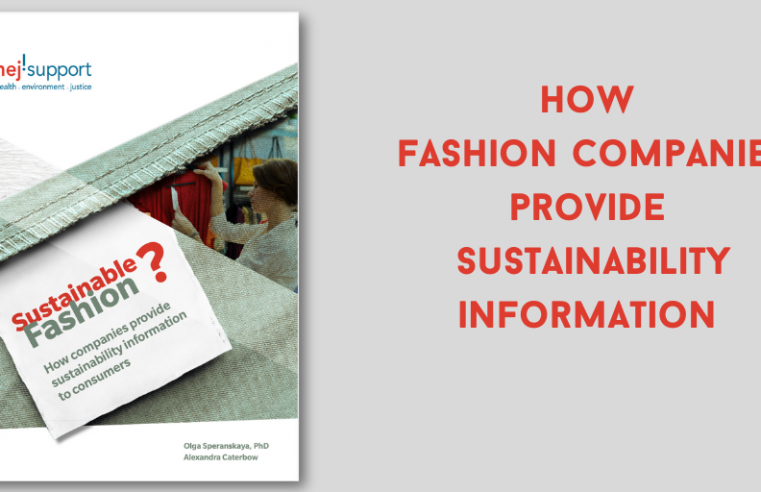 How Fashion Companies Provide Sustainability Information to Consumers