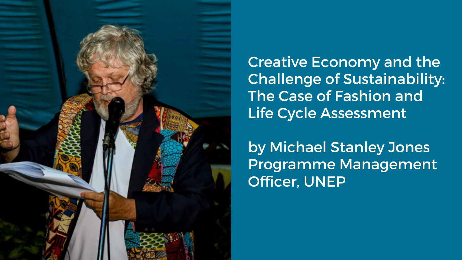 Creative Economy and the Challenge of Sustainability: the Case of Fashion and Lifecycle Assessment